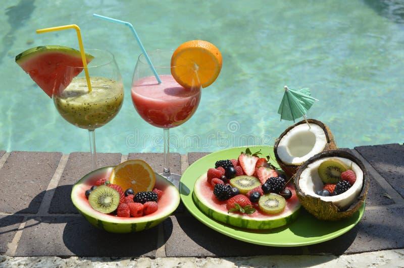 果子和汁液的分类 库存图片