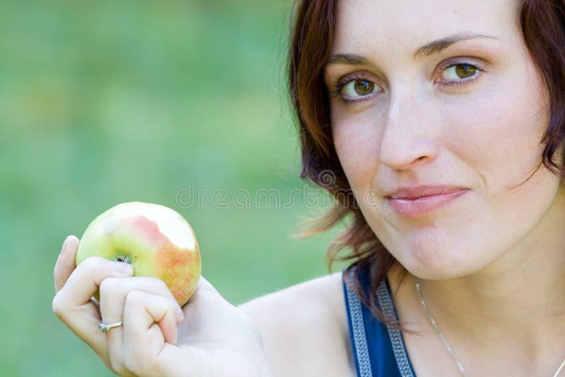 果子妇女 库存图片