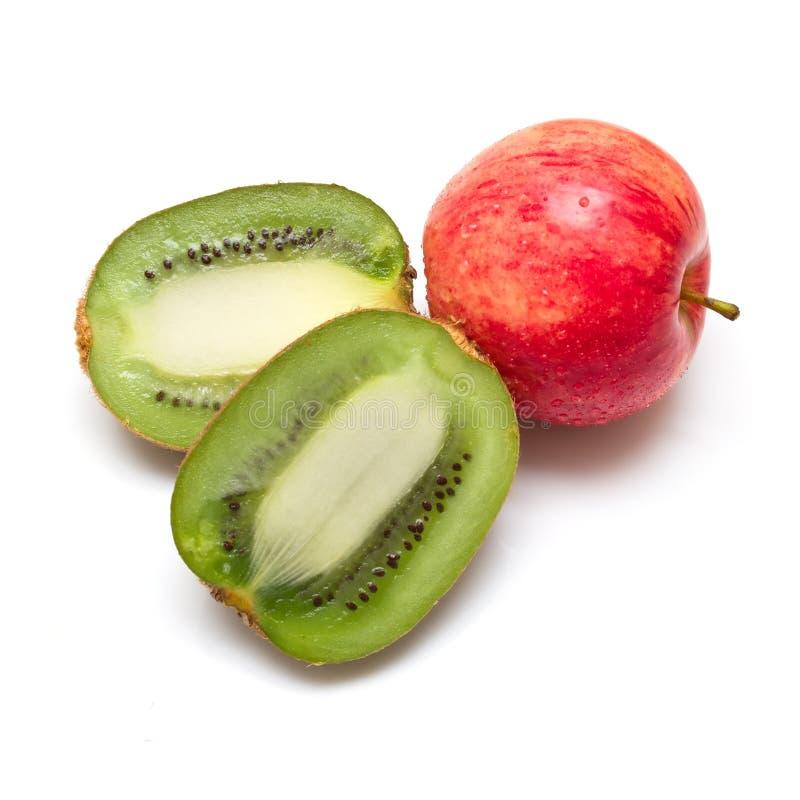 果子成熟白色 图库摄影