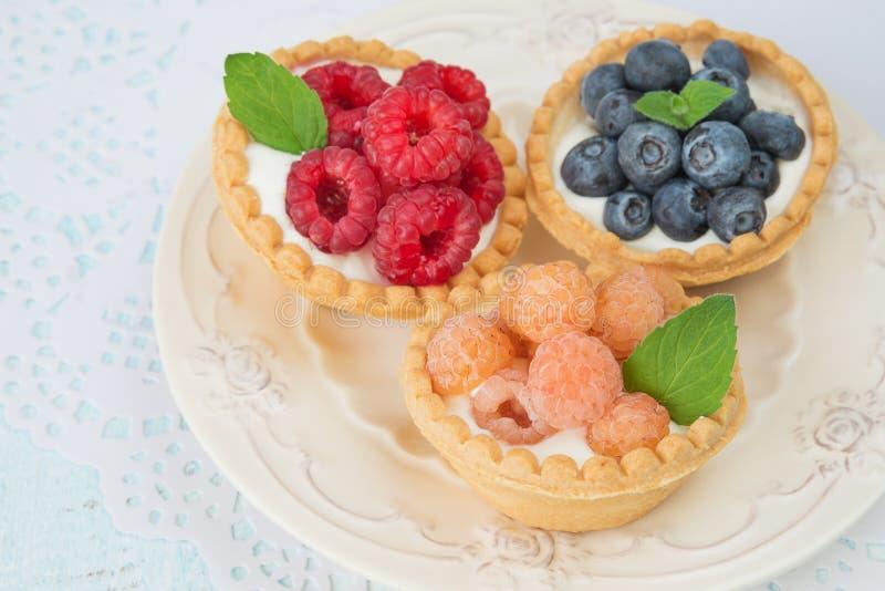 果子果子馅饼 免版税库存照片