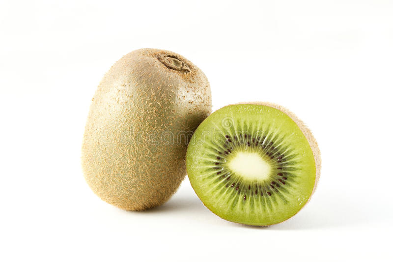 果子查出的猕猴桃白色 库存照片