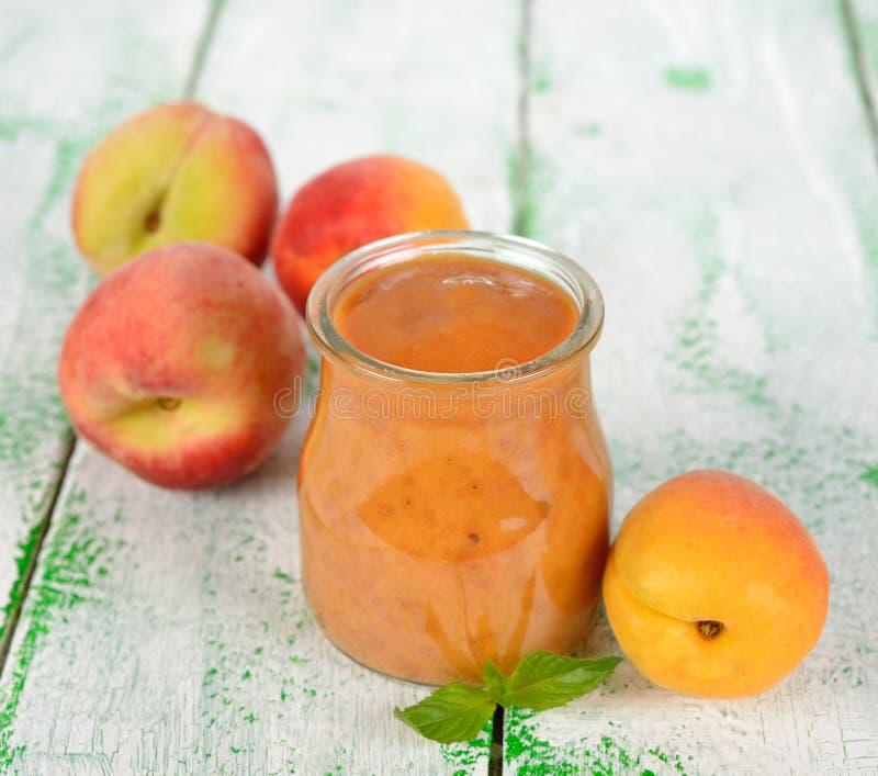 果子纯汁浓汤 免版税库存照片