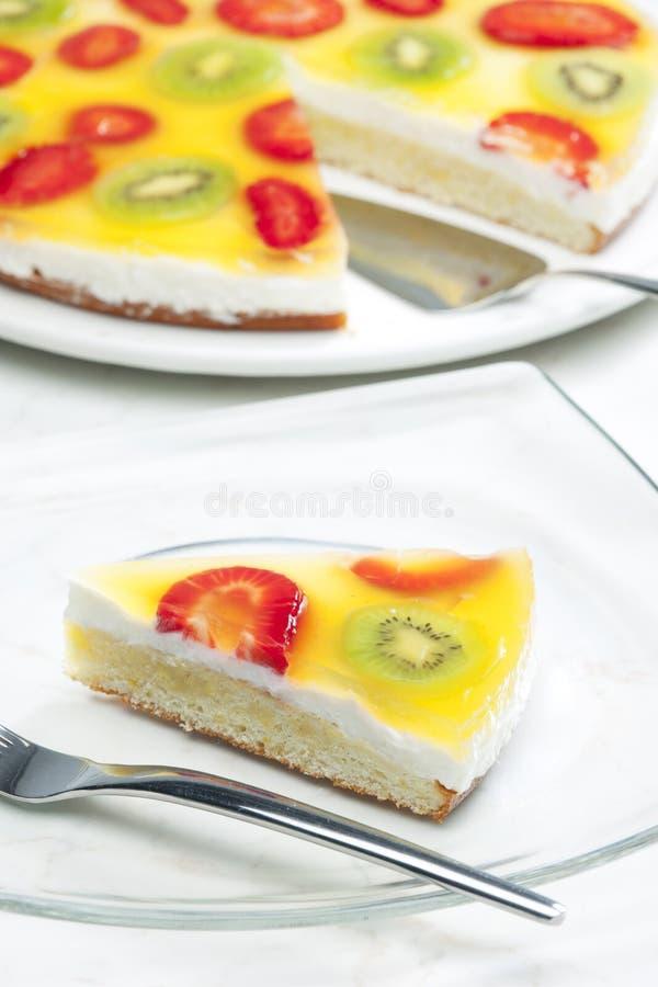 果子蛋糕 免版税库存图片