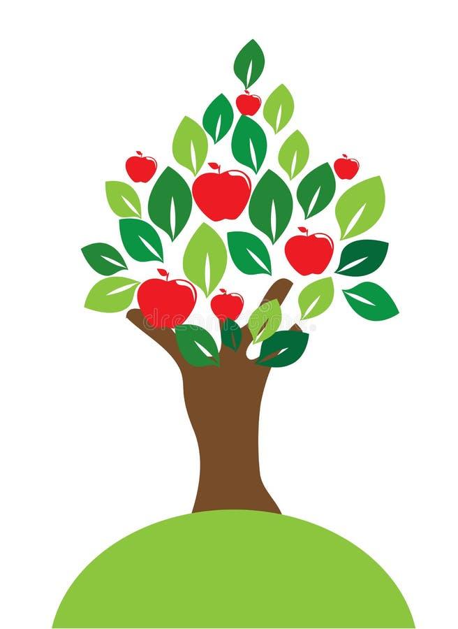 果子设计 库存例证