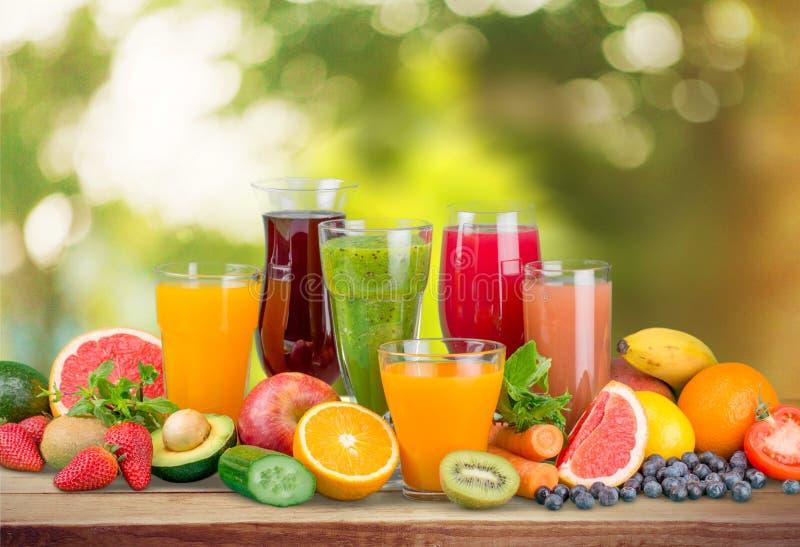 果子,饮料,葡萄 免版税库存照片
