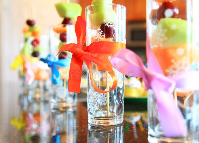 果子玻璃 免版税图库摄影