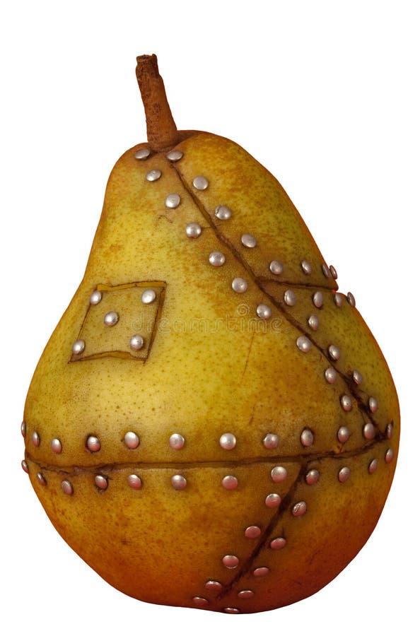 果子gmo操作了基因改造的梨 免版税库存图片