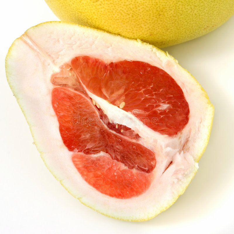 果子pomel pommelo柚子 库存图片