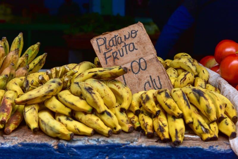 水果摊-哈瓦那,古巴 免版税库存图片