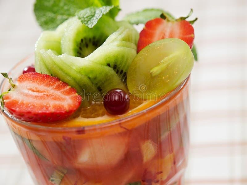 水果鸡尾酒沙拉 库存照片