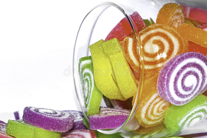 果冻甜点 免版税图库摄影