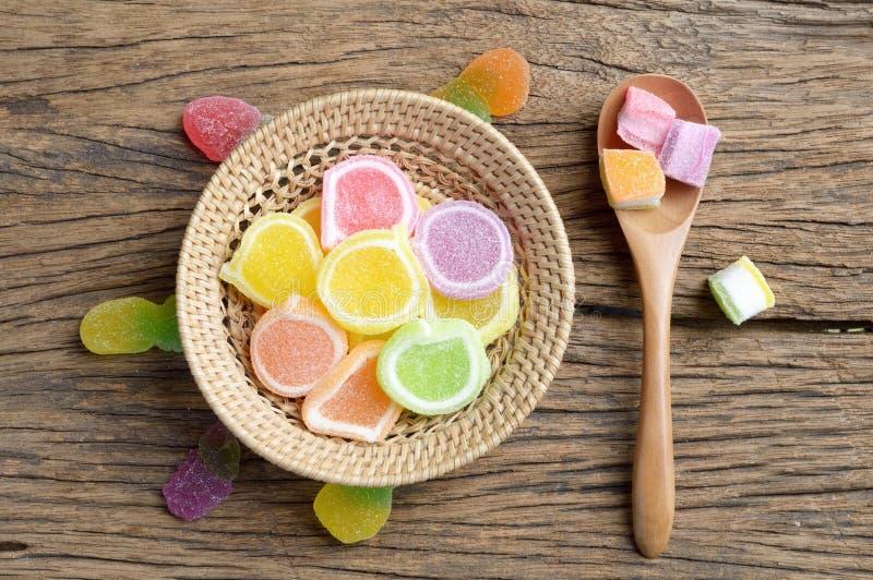 果冻糖果点心 图库摄影