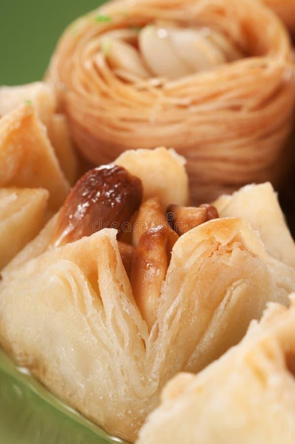果仁蜜酥饼用花生 库存图片