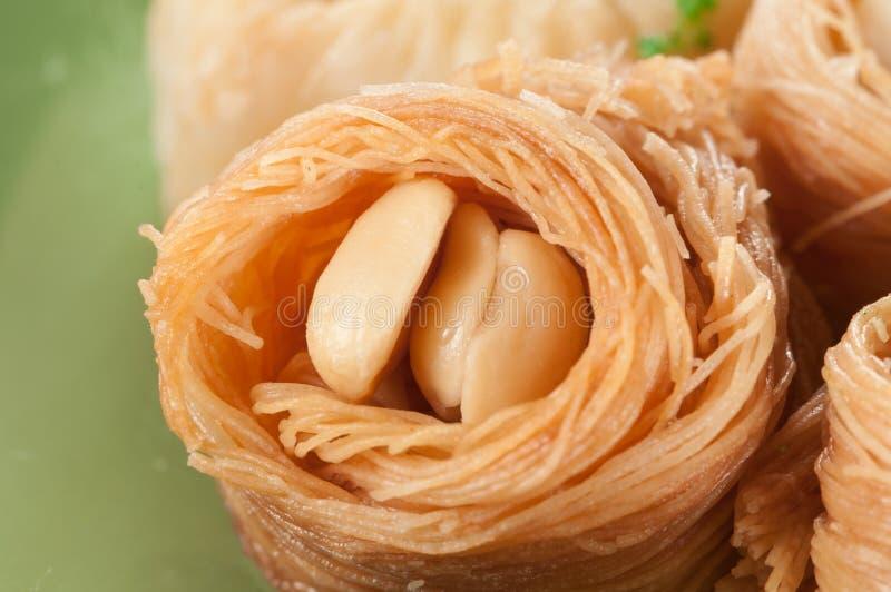 果仁蜜酥饼(巢)用花生 库存图片