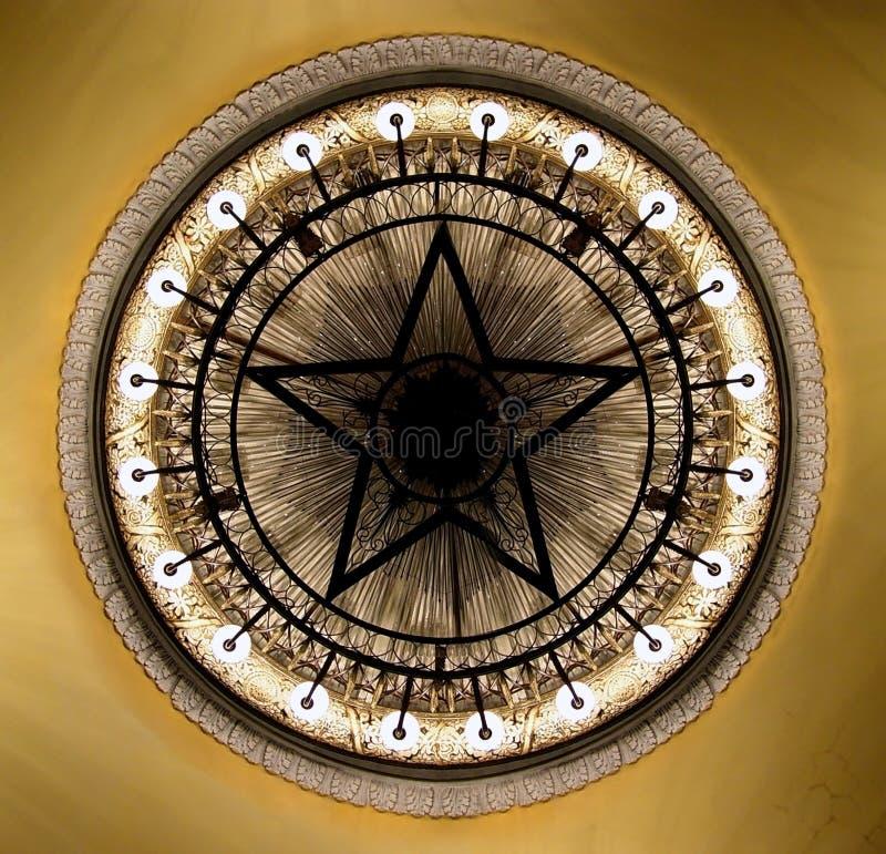 枝形吊灯莫斯科剧院 库存图片