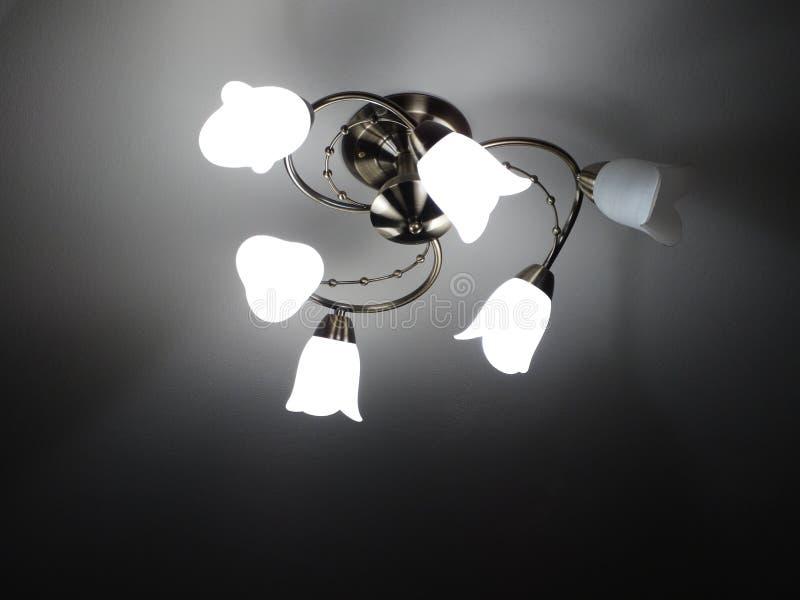枝形吊灯 免版税图库摄影