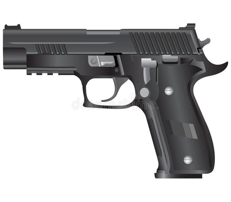枪例证向量 库存例证