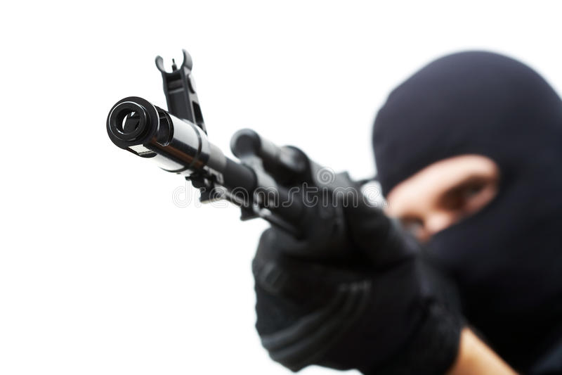 枪口 免版税库存图片