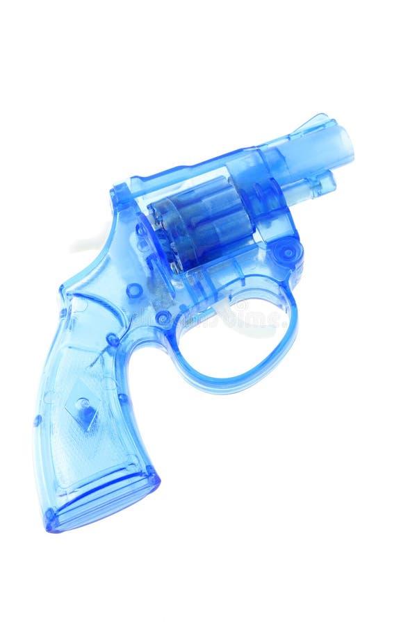 枪塑料玩具 免版税库存照片