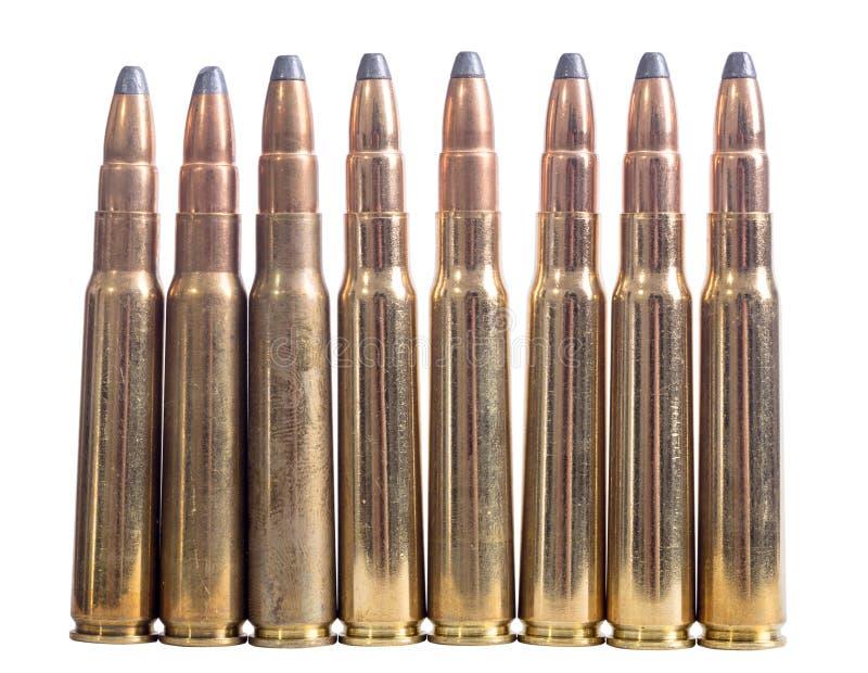 枪弹药筒8mm口径 免版税库存照片