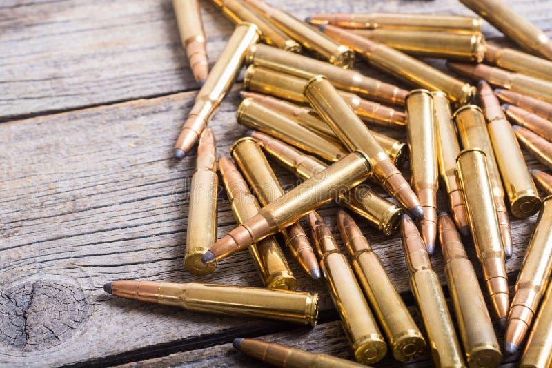 枪弹药筒8mm口径 免版税图库摄影