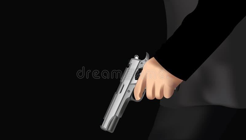 枪手 皇族释放例证