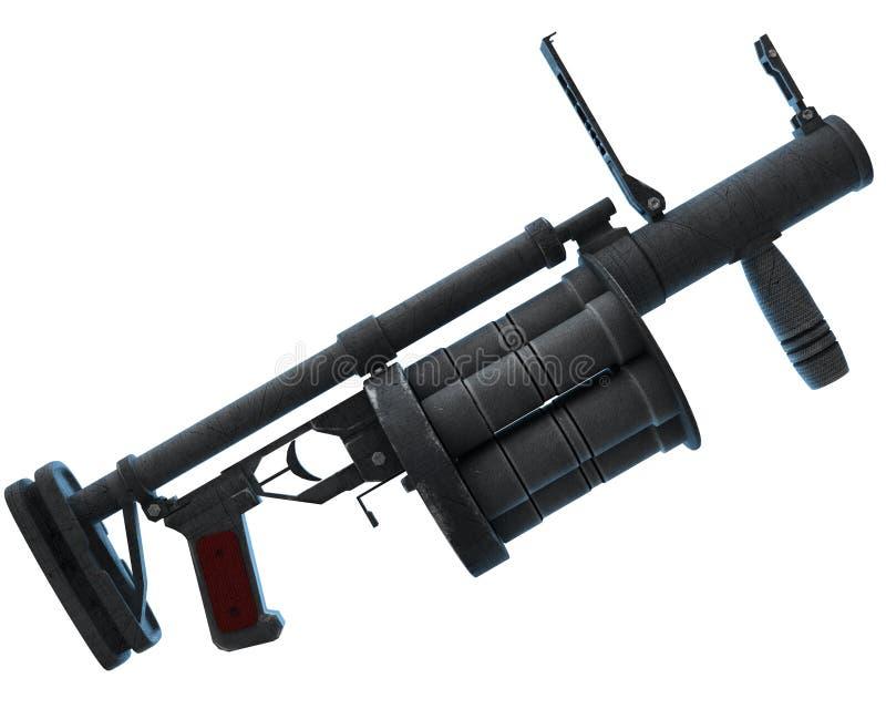 枪榴弹发射器 皇族释放例证