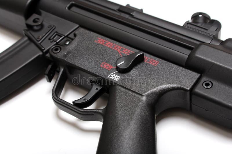 枪现代零件submachine 库存照片