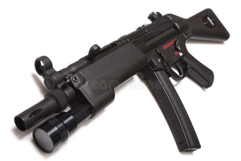 枪现代submachine 免版税库存照片