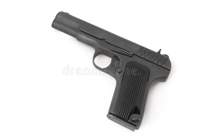枪现有量手枪苏维埃 图库摄影