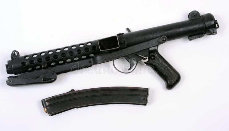 枪英镑submachine 免版税库存图片