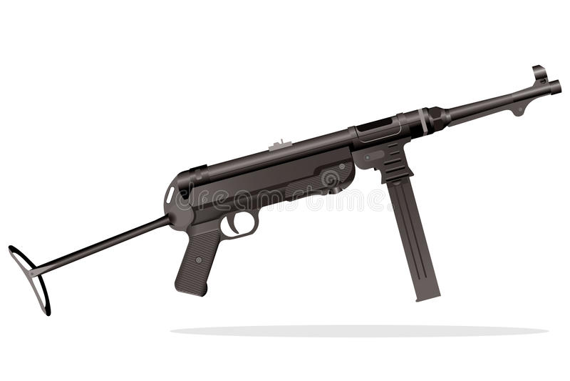 枪设备 库存例证