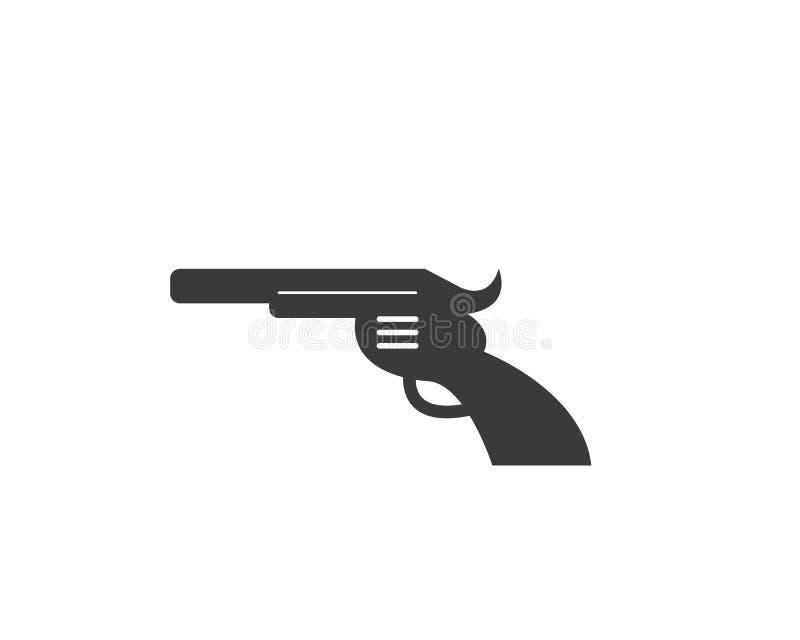 枪象商标例证传染媒介 皇族释放例证
