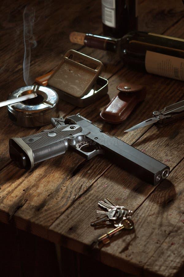 枪 免版税库存图片