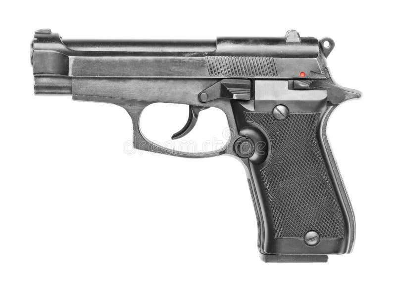 黑枪 免版税图库摄影