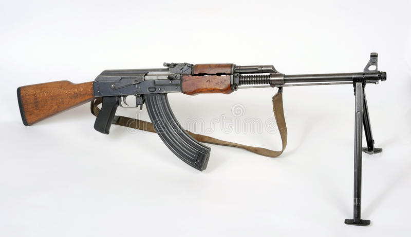 枪m72b1设备小队南斯拉夫人 免版税库存图片