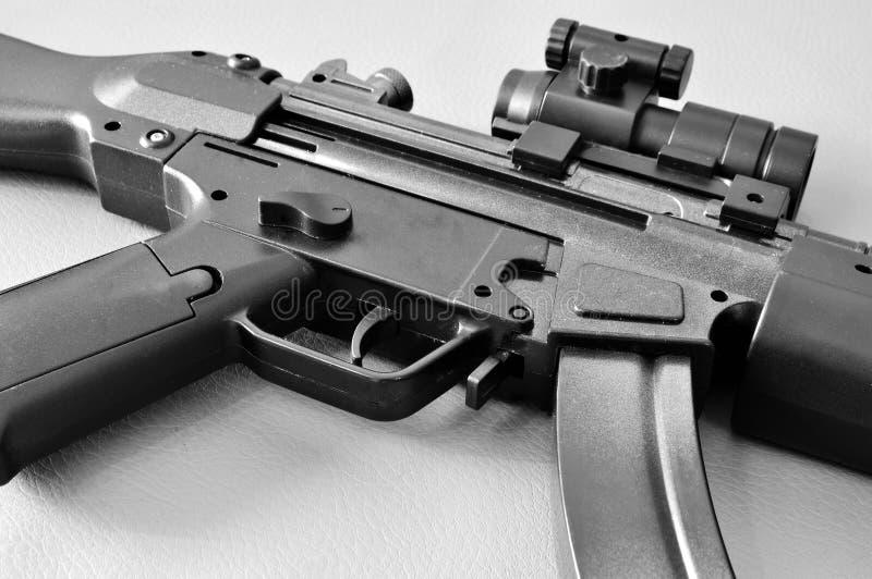 枪mp5 submachine 库存图片
