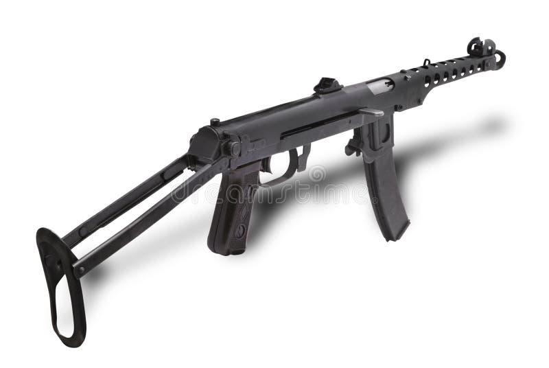 枪pps43 submachine 免版税库存图片