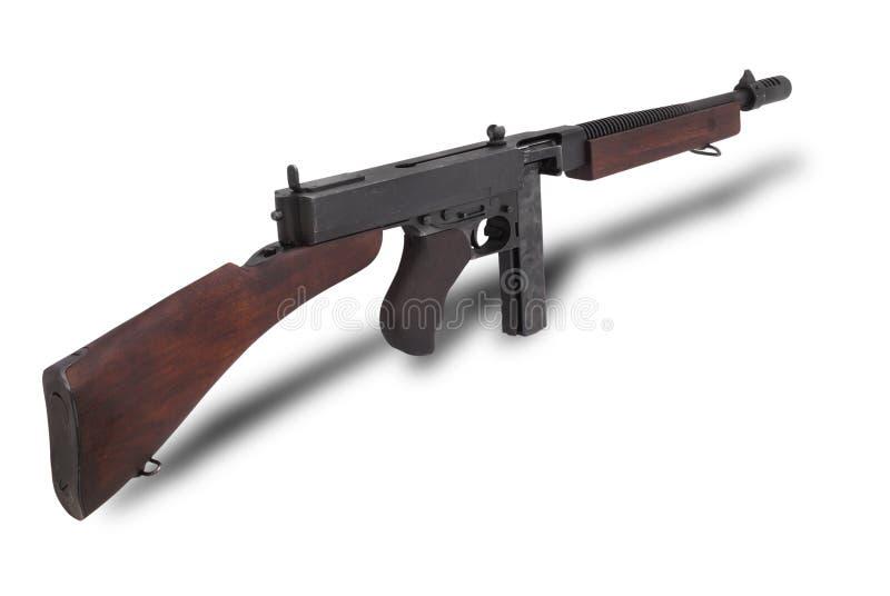 枪submachine汤普森美国 免版税库存照片