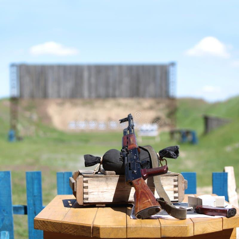 枪submachine 免版税库存照片