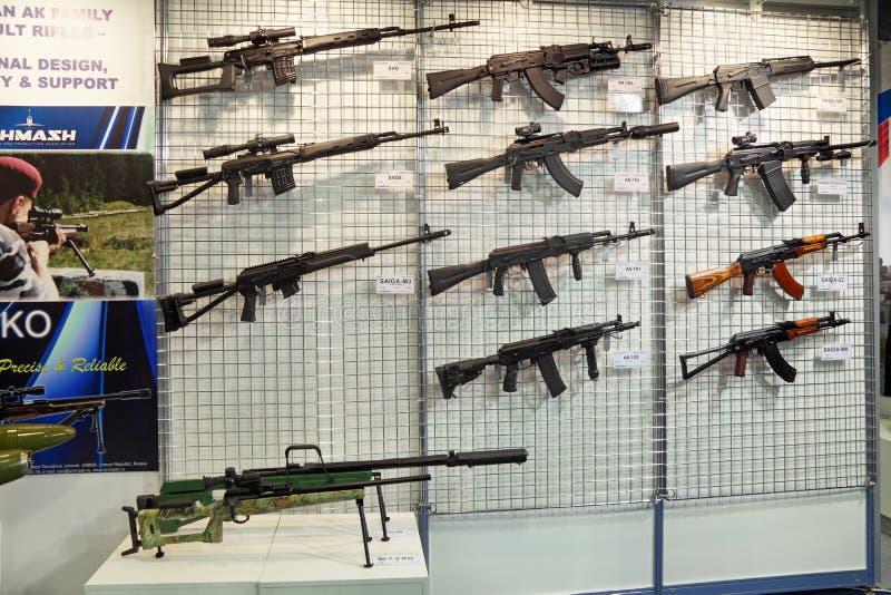 枪submachine 库存图片