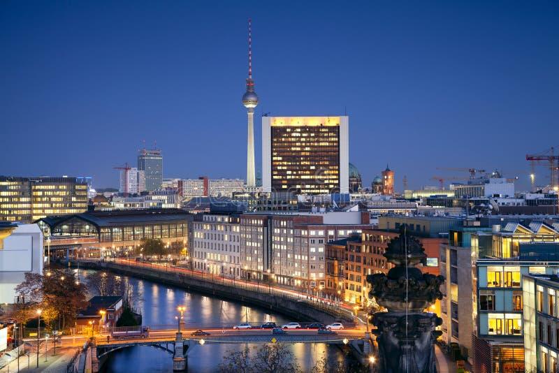 柏林。 库存图片