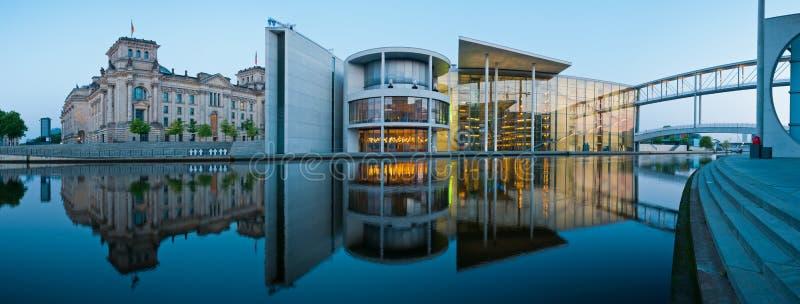 柏林全景Reichstag 库存照片