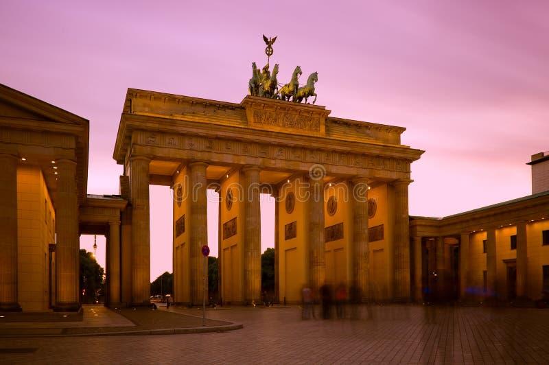柏林勃兰登堡门德国 库存图片