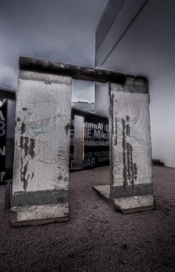 柏林围墙德国 图库摄影