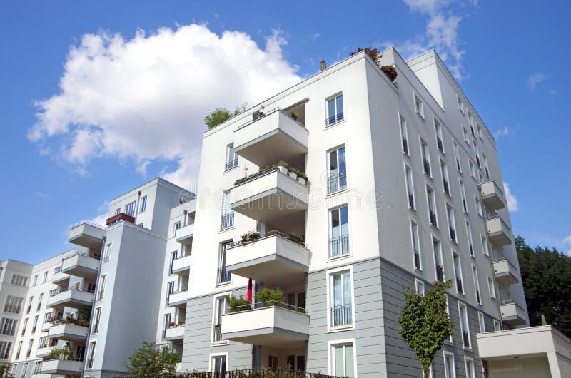 柏林城内住宅 免版税库存照片