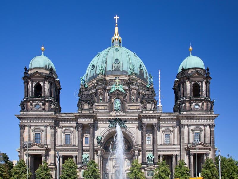 柏林大教堂。柏林大教堂,德国 库存图片