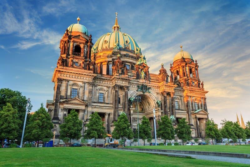 柏林大教堂德国 库存照片