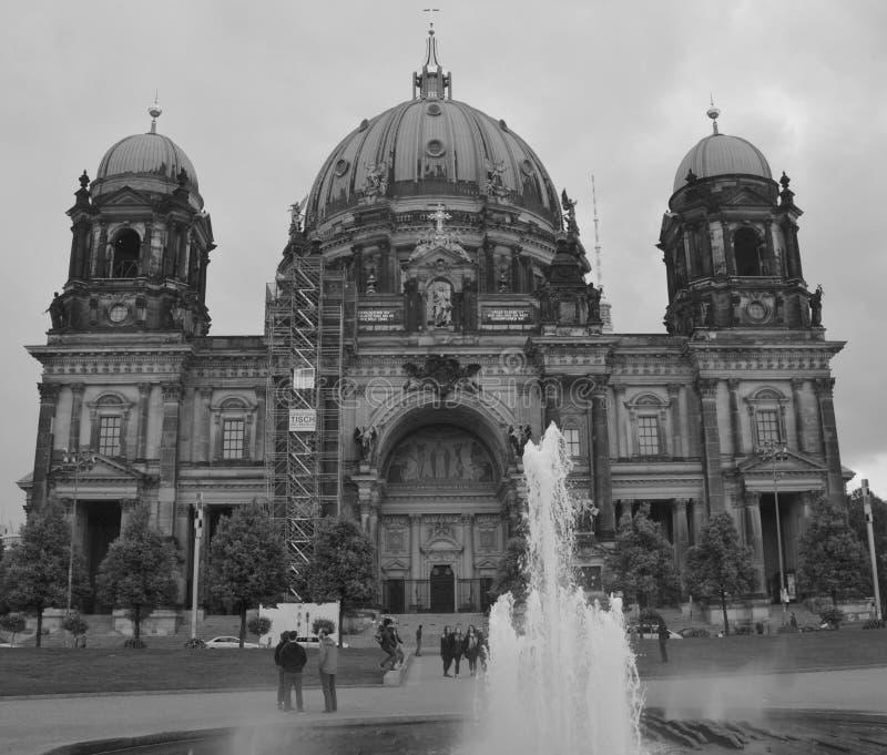 柏林大教堂德语:柏林大教堂 免版税库存照片