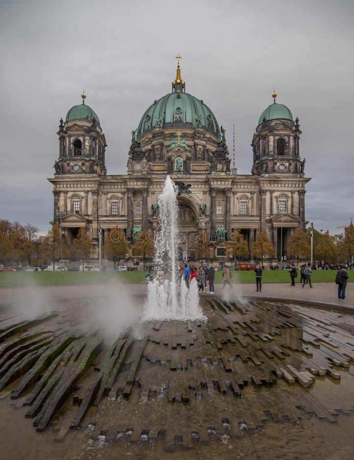 柏林大教堂德语:柏林大教堂 免版税库存图片
